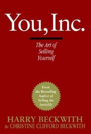 Cover of: You, Inc.