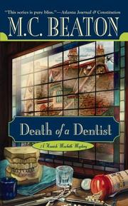 Cover of: Death of a Dentist