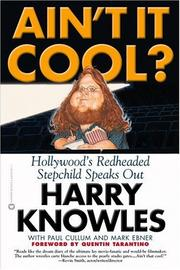 Cover of: Ain't It Cool? Hollywood's Redheaded Stepchild Speaks Out
