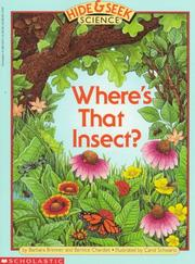 Cover of: Where's That Insect (A Hide & Seek Science, No 1)