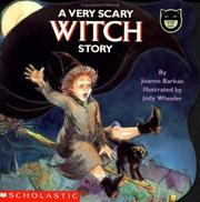 Cover of: A Very Scary Witch Story (Cartwheel)