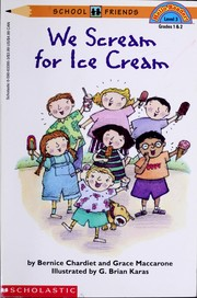 Cover of: We Scream for Ice Cream (Hello Reader Level 3)