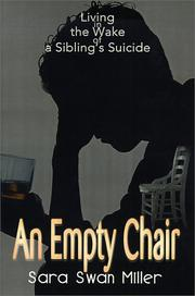 Cover of: An Empty Chair: Living in the Wake of a Sibling's Suicide