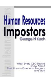Cover of: Human Resources Impostors