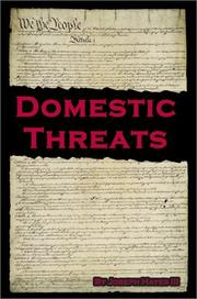 Cover of: Domestic Threats
