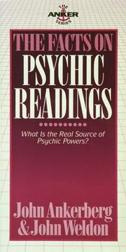 Cover of: The facts on psychic readings