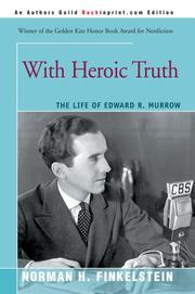 Cover of: With Heroic Truth: The Life of Edward R. Murrow