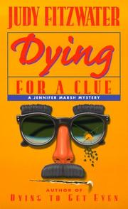Cover of: Dying for a Clue (Jennifer Marsh Mysteries)