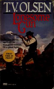 Cover of: Lonesome gun