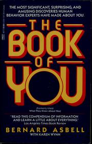 Cover of: The Book of You