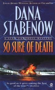 Cover of: So Sure of Death (Liam Campbell Mysteries)