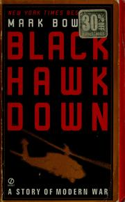 Cover of: Black Hawk down