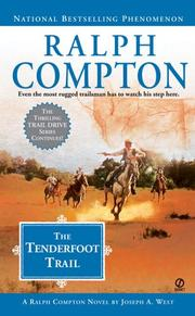 Cover of: Ralph Compton The Tenderfoot Trail (Ralph Compton Western Series)