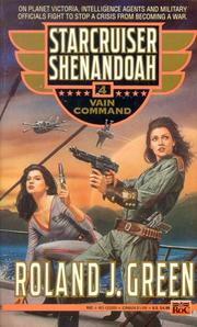 Cover of: Vain Command (Starcruiser Shenandoah)