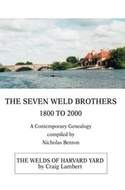 Cover of: The Seven Weld Brothers