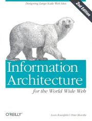 Cover of: Information Architecture for the World Wide Web