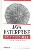 Cover of: Java Enterprise in a Nutshell