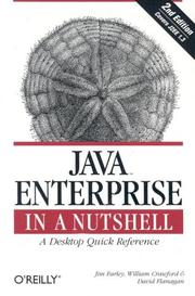 Cover of: Java Enterprise in a Nutshell (2nd Edition)