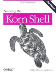 Cover of: Learning the Korn Shell (2nd Edition)
