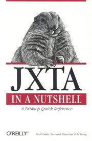 Cover of: JXTA in a Nutshell