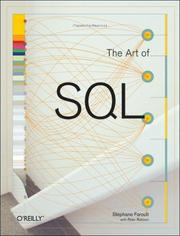 Cover of: The Art of SQL (Art of)
