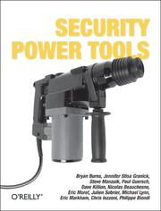 Cover of: Security Power Tools