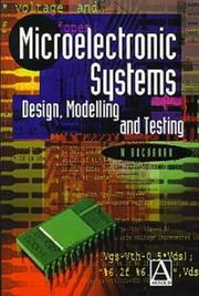 Cover of: Microelectronic systems
