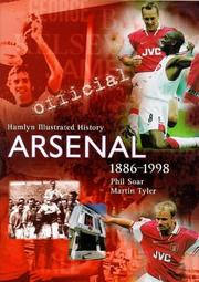 Cover of: The Official Illustrated History of Arsenal 1886-1998 (Hamlyn Illustrated History)