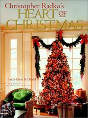 Cover of: Christopher Radko's heart of Christmas
