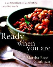 Cover of: Ready When You Are