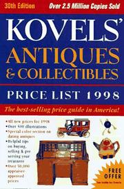 Cover of: Kovels' antiques & collectibles price list