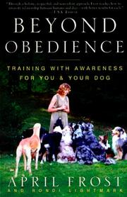 Cover of: Beyond Obedience