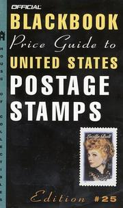 Cover of: The Official 2003 Blackbook Price Guide to U. S. Postage Stamps, 25th Edition (Official Blackbook Price Guide to United States Postage Stamps)