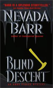 Cover of: Blind Descent (Anna Pigeon Mysteries) (Anna Pigeon Mysteries)