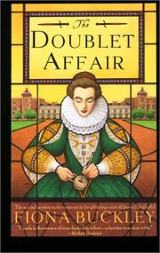 Cover of: Doublet Affair (Mystery at Queen Elizabeth I's Court)