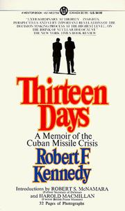 Cover of: 13 Days