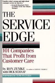 Cover of: The Service Edge