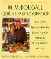 Cover of: The Mcdougall Quick and Easy Cookbook
