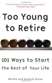 Cover of: Too Young to Retire