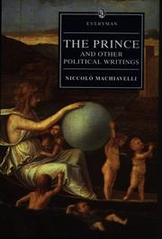 Cover of: The Prince and Other Political Writings