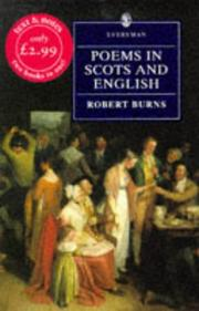 Cover of: Poems in Scots and English