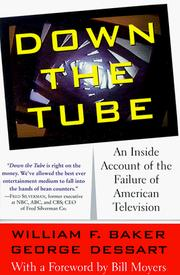 Cover of: Down the Tube