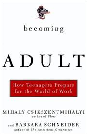 Cover of: Becoming Adult