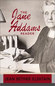 Cover of: The Jane Addams reader