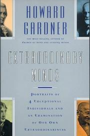 Cover of: Extraordinary Minds (Masterminds Series)
