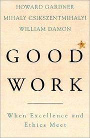Cover of: Good Work