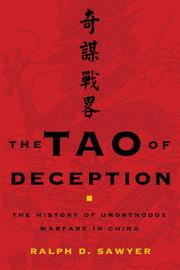 Cover of: The Tao of Deception