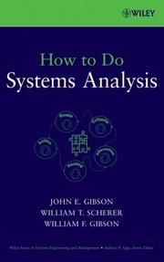 Cover of: How to Do Systems Analysis