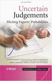Cover of: Uncertain Judgements