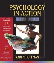 Cover of: Chs 17 & 18 of Psychology in Action